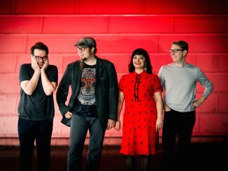 Skinjobs-bändi on kotoisin Helsingin Vallilasta. Bändi perustettiin vuonna 2016. Kuva: Tiia Öhman