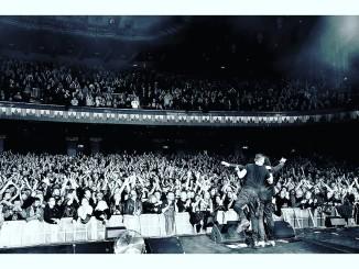 Tältä näytti, kun The Cult oli valloittanut Hammersmith Apollon Lontoossa. Kuva: The Cultin Facebook-sivut.